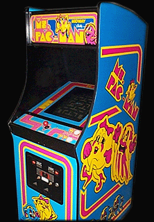 Ms. Pac-Man (bootleg, set 1) Cabinet