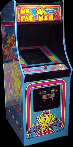 Ms. Pac-Man Cabinet