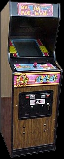 Ms. Pac-Man (speedup hack) Cabinet