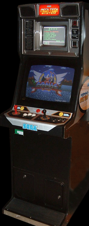 Sonic The Hedgehog (Mega-Tech, set 1) Cabinet