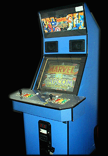 Marvel Vs. Capcom: Clash of Super Heroes (Euro 980123) Cabinet