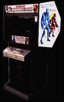 The Ninja Warriors (World) Cabinet