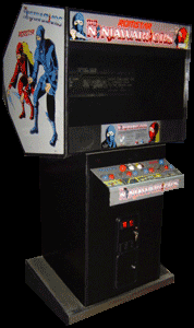 The Ninja Warriors (Japan) Cabinet