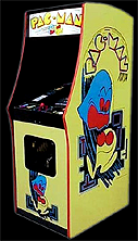 Pac-Man (Hearts) Cabinet