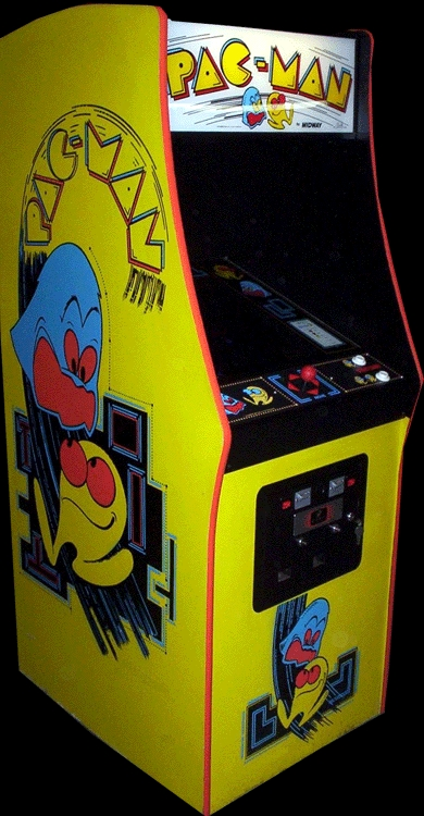 pac man arcade cabinet pac midway rom 24218