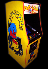 Pac-Man (Galaxian hardware, set 1) Cabinet