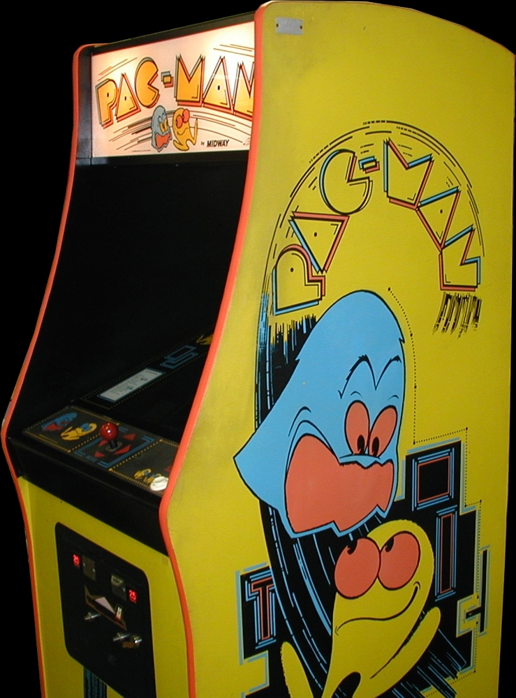 Pac-Man (Midway, harder) Cabinet