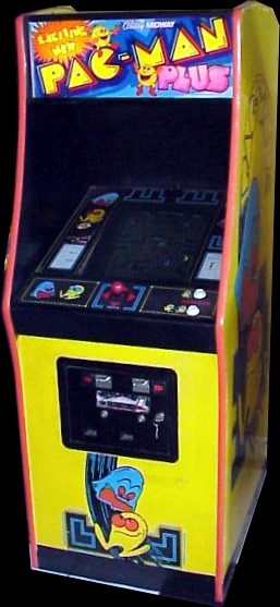Pac-Man Plus Cabinet