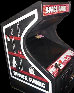 Space Panic (harder) Cabinet