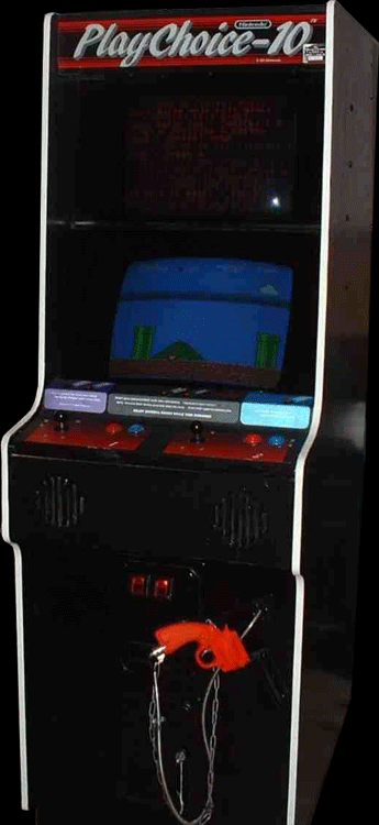 Contra (PlayChoice-10) Cabinet