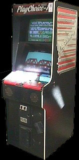 Rush'n Attack (PlayChoice-10) Cabinet
