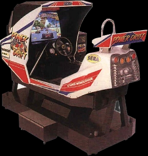Power Drift (Japan) Cabinet