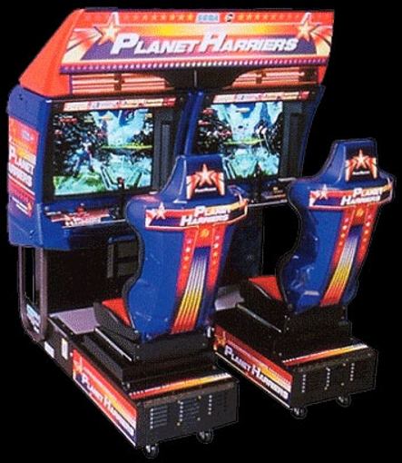 Planet Harriers (Rev A) Cabinet
