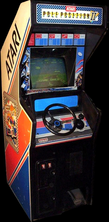Pole Position II (Japan) Cabinet