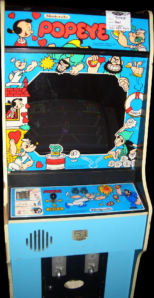 Popeye (revision D) Cabinet