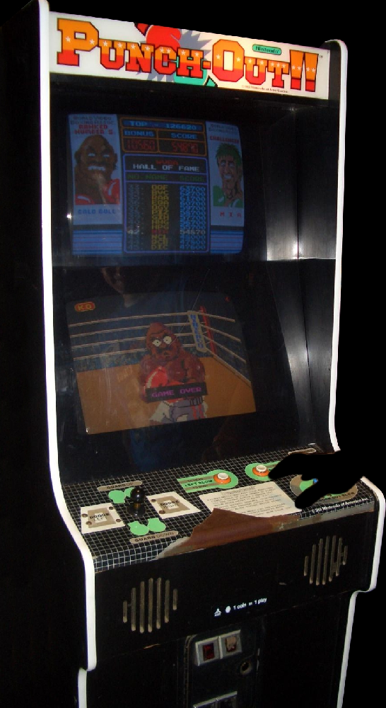 Punch-Out!! (Rev B) Cabinet
