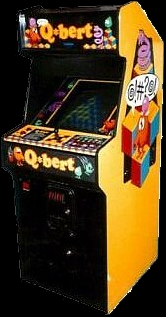 Q*bert (early test version) Cabinet