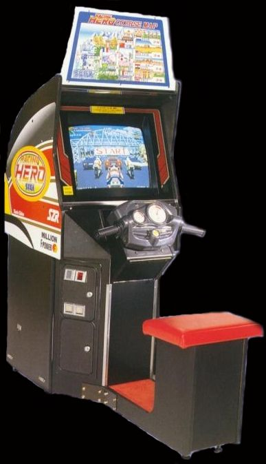 Racing Hero (FD1094 317-0144) Cabinet