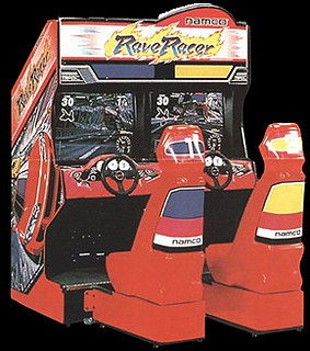 Rave Racer (Rev. RV2, World) Cabinet