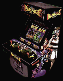 Rampage: World Tour (rev 1.3) Cabinet