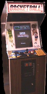 Super Basketball (version H, unprotected) Cabinet