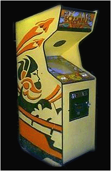 Scramble (bootleg on Galaxian hardware) Cabinet