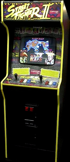 Street Fighter II: The World Warrior (World 910522) Cabinet