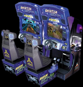 San Francisco Rush 2049 Cabinet