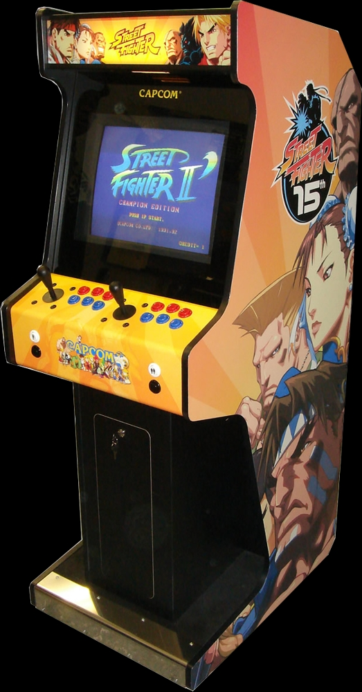 Street Fighter II': Champion Edition (Japan 920513) Cabinet