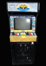 Street Fighter II': Champion Edition (US 920313) Cabinet