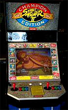 Street Fighter II': Champion Edition (US 920513) Cabinet