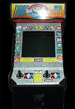 Street Fighter II': Hyper Fighting (World 921209) Cabinet