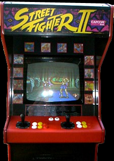 Street Fighter II: The World Warrior (Japan 910214) Cabinet