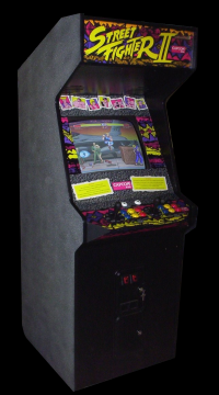 Street Fighter II: The World Warrior (Japan 910306) Cabinet