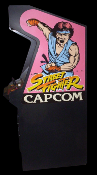 Street Fighter II': Champion Edition (Kouryu) Cabinet