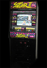 Street Fighter II: The World Warrior (US 910522) Cabinet