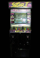 Street Fighter II: The World Warrior (USA 911101) Cabinet
