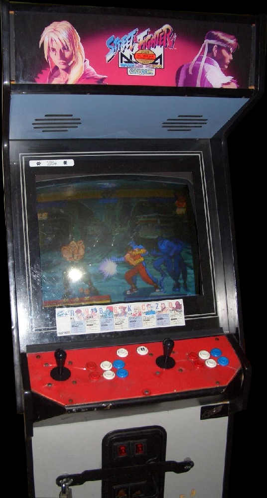 Street Fighter Alpha: Warriors' Dreams (Euro 950727) Cabinet
