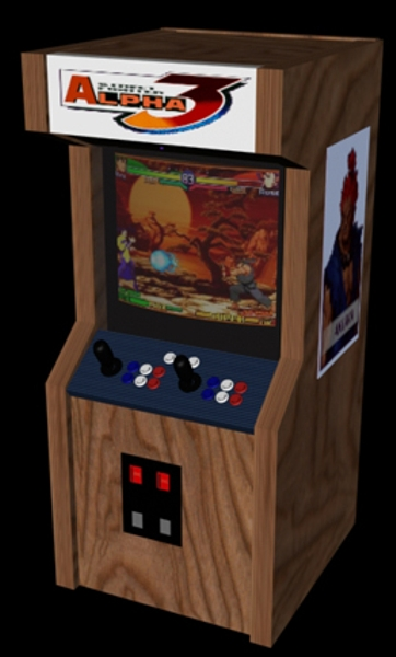 Street Fighter Alpha 3 (Euro 980904) Cabinet