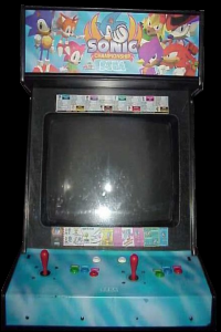 Sonic the Fighters (Japan) Cabinet