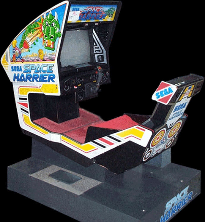 Space Harrier (Rev A, 8751 315-5163A) Cabinet