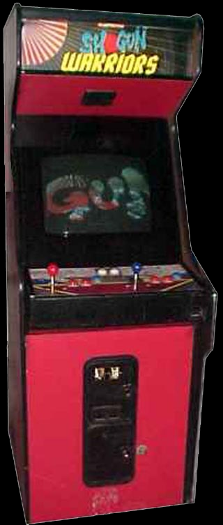 Shogun Warriors (US) Cabinet