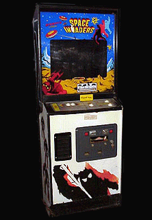 Space Invaders (CV Version, larger roms) Cabinet