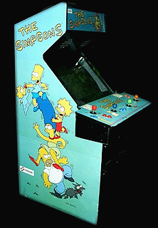 The Simpsons (2 Players World, set 1) Cabinet
