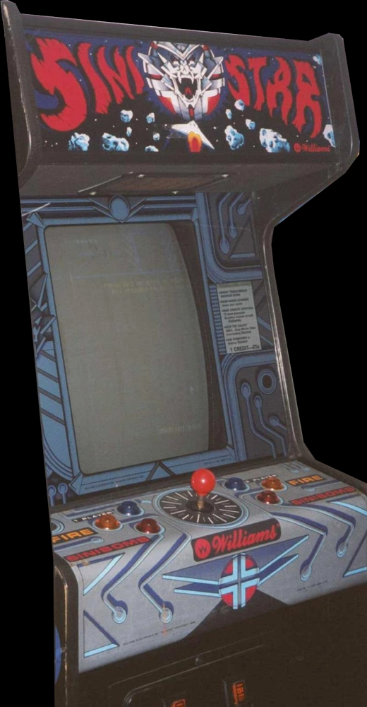 Sinistar (revision 2) Cabinet