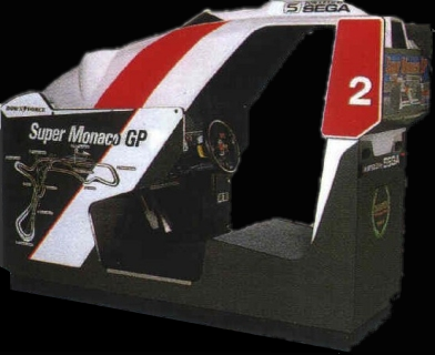 Super Monaco GP (US, Rev A) (FD1094 317-0125a) Cabinet