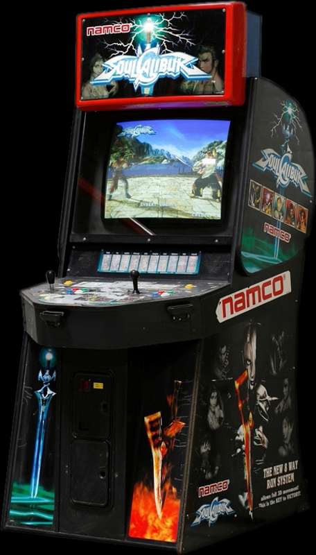 Soul Calibur (World, SOC14/VER.C) Cabinet