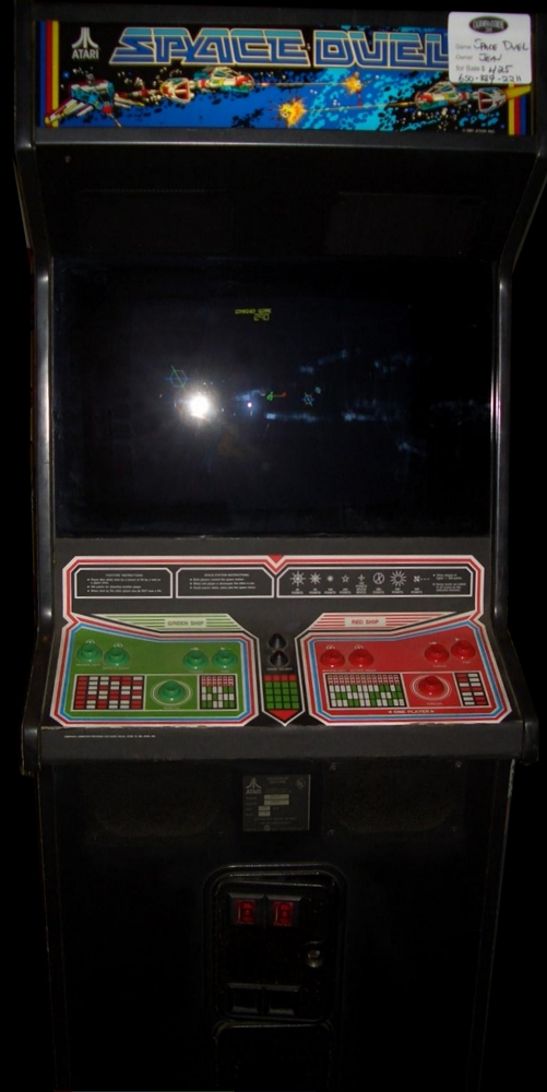 Space Duel (version 2) Cabinet