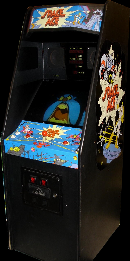 Space Ace (US Rev. A3) Cabinet