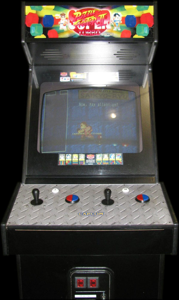 Super Puzzle Fighter II Turbo (Euro 960529) Cabinet